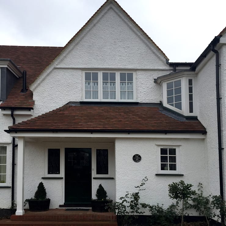 Baldock Road, Letchworth Garden City:  Houses by Pentangle Design