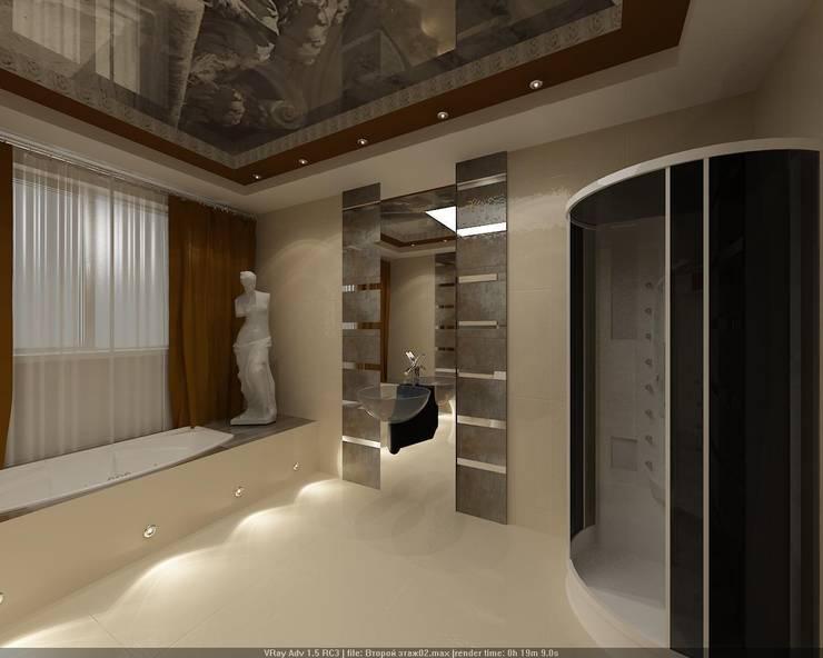 Ванная комната: Ванные комнаты в . Автор – Студия дизайна Натали Хованской