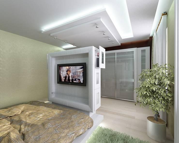 Спальня: Спальни в . Автор – Студия дизайна Натали Хованской