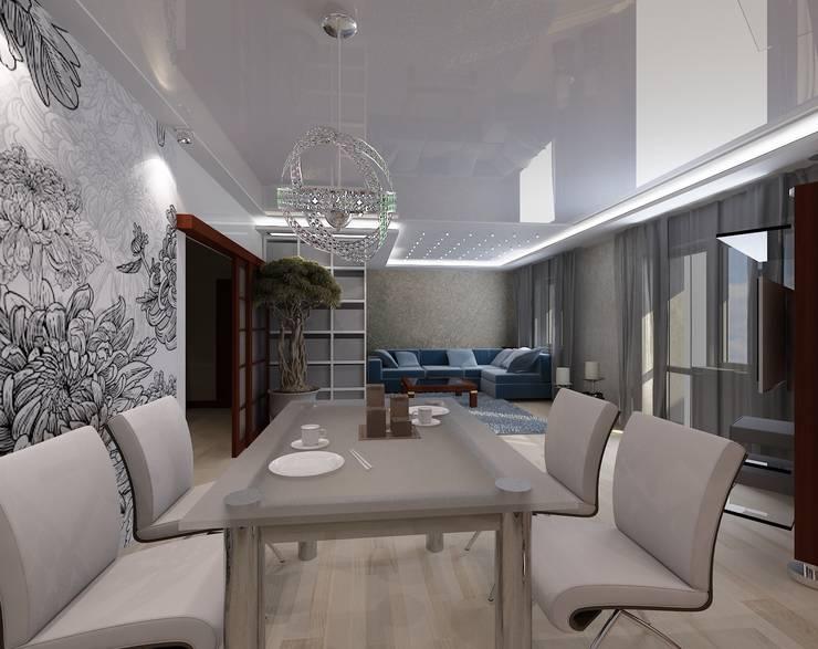 Гостиная: Гостиная в . Автор – Студия дизайна Натали Хованской