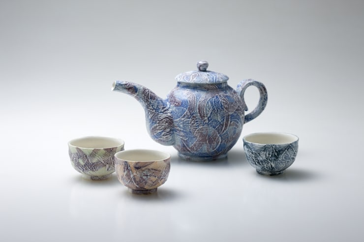 table ware - Snowy - tea pot: 김세현의