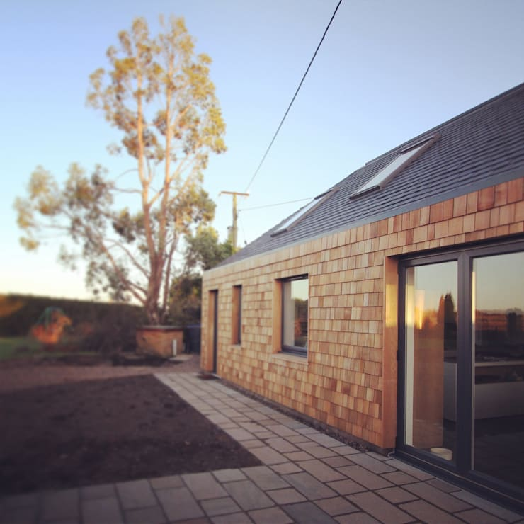 Timber shingles :  Houses by A449 LTD