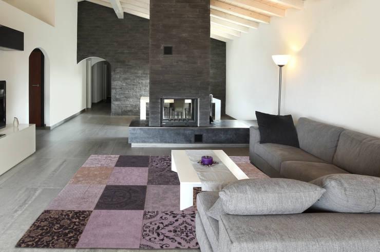 Patchwork - Vesuvio 8373 - Interior:  Muren & vloeren door louis de poortere