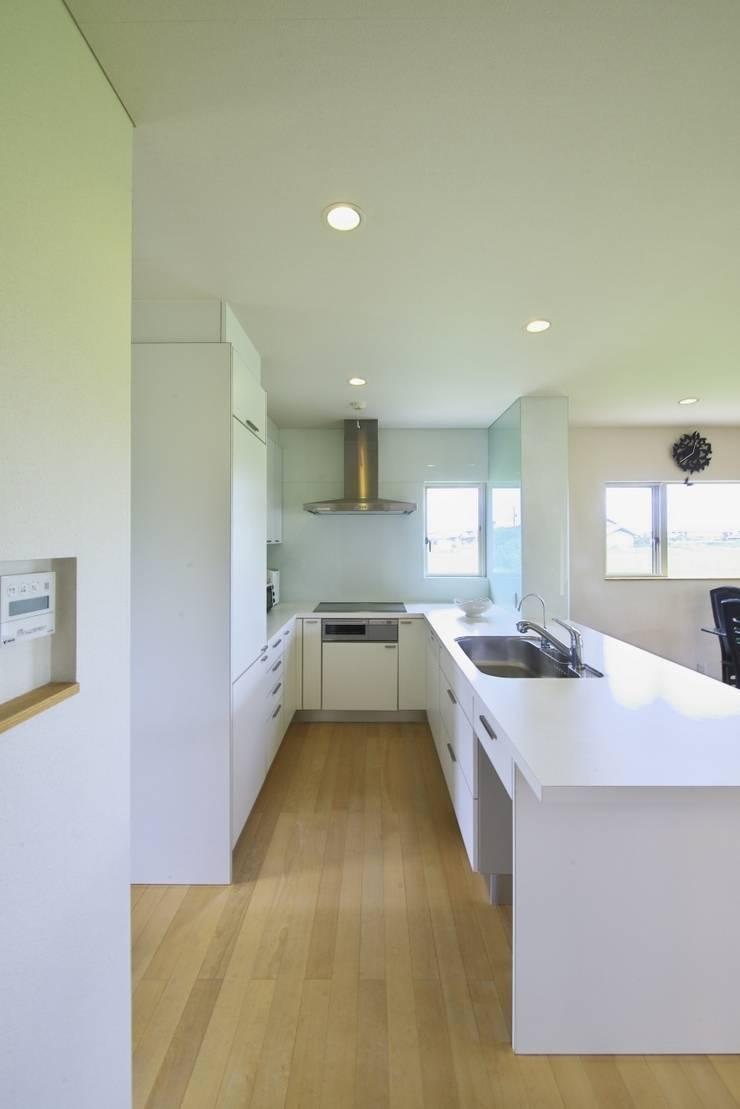 社宮司の家: 五藤久佳デザインオフィス有限会社が手掛けたキッチンです。