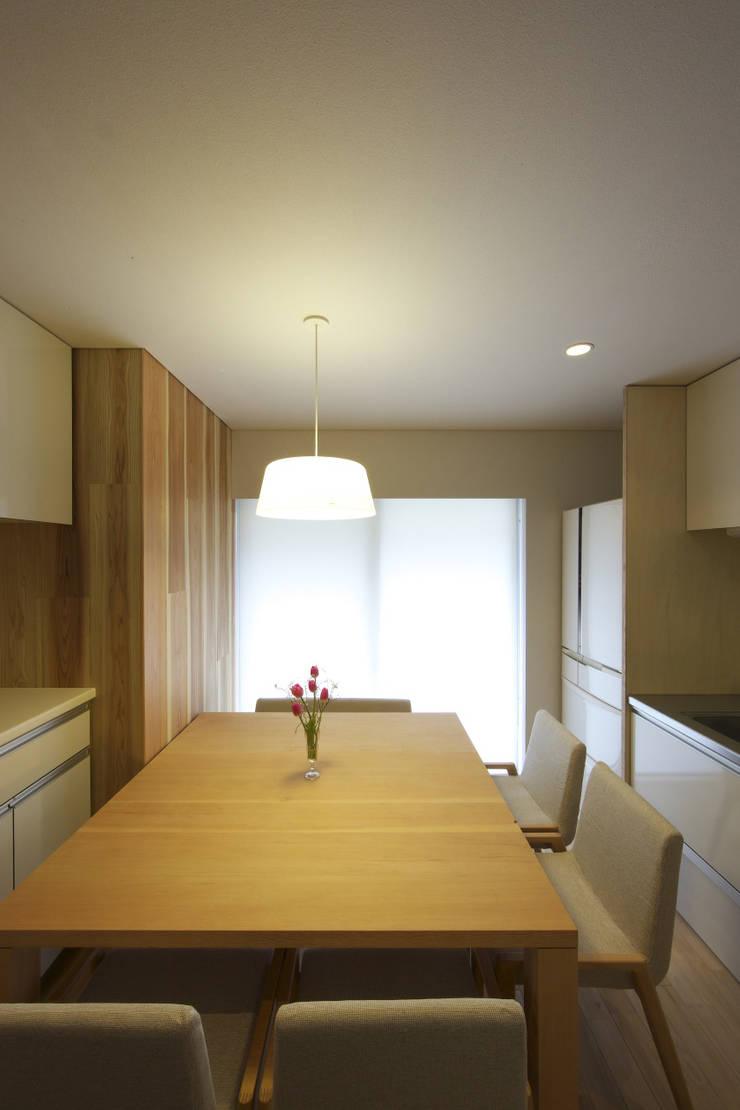 尾張旭の家 オリジナルデザインの ダイニング の 五藤久佳デザインオフィス有限会社 オリジナル