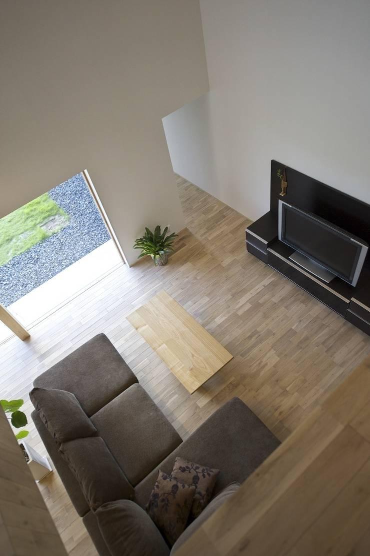 安八の家: 五藤久佳デザインオフィス有限会社が手掛けたリビングです。
