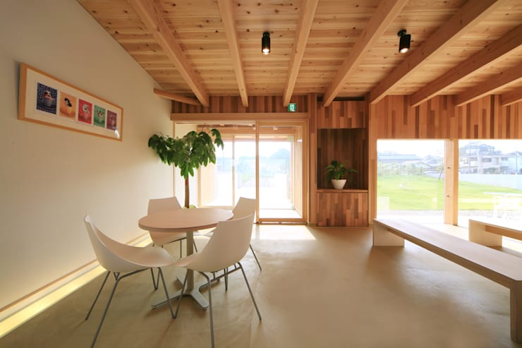 さとこまき調剤薬局: 五藤久佳デザインオフィス有限会社が手掛けた和室です。
