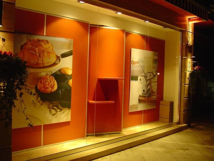 Emre Doğ Mimarlık – Beyaz Fırın :  tarz Ofisler ve Mağazalar