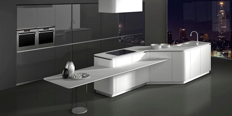 Cocinas de estilo  por Vegni Design, Minimalista