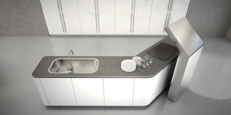 Cocinas de estilo  por Vegni Design, Moderno