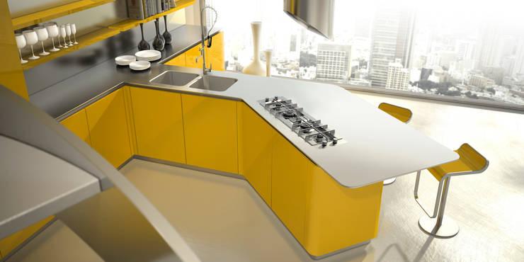 Cocinas de estilo  por Vegni Design, Ecléctico