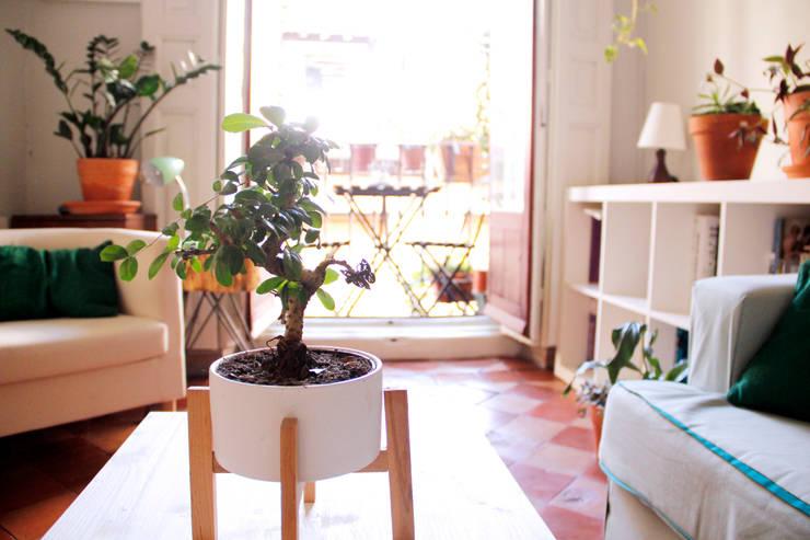 Livings de estilo escandinavo por CARLA GARCÍA
