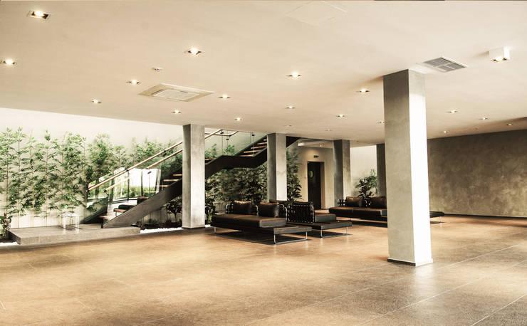 Gedung perkantoran oleh Escapefromsofa, Modern