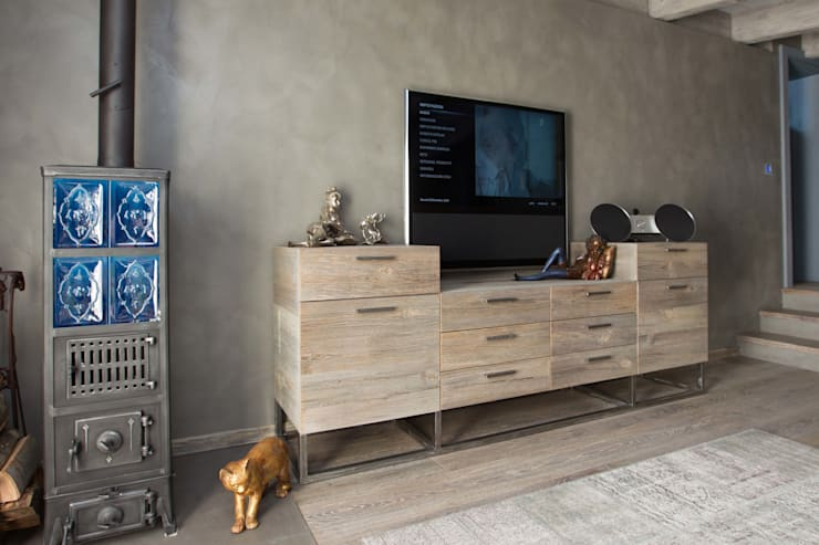 Dormitorios de estilo moderno de DF Design