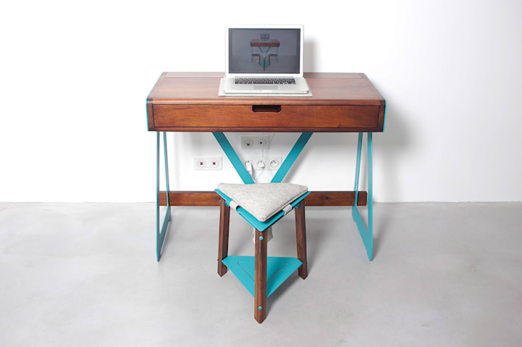 Studio in stile in stile Moderno di PIERRE FURNEMONT DESIGN STUDIO