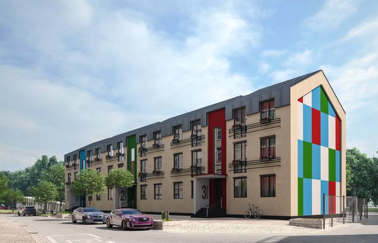 Многоквартирный жилой дом: Дома в . Автор – ARCHIplus