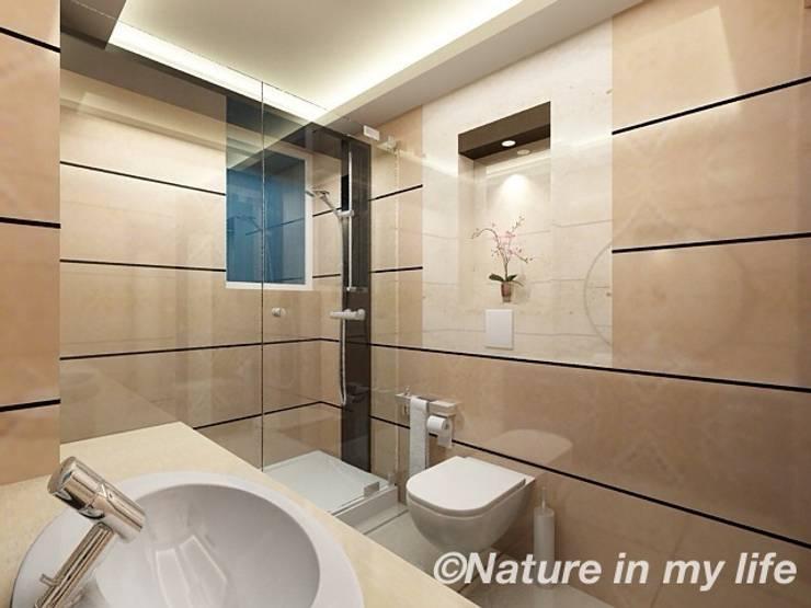 Bathroom Interior design:  Bathroom by Nature in My Life