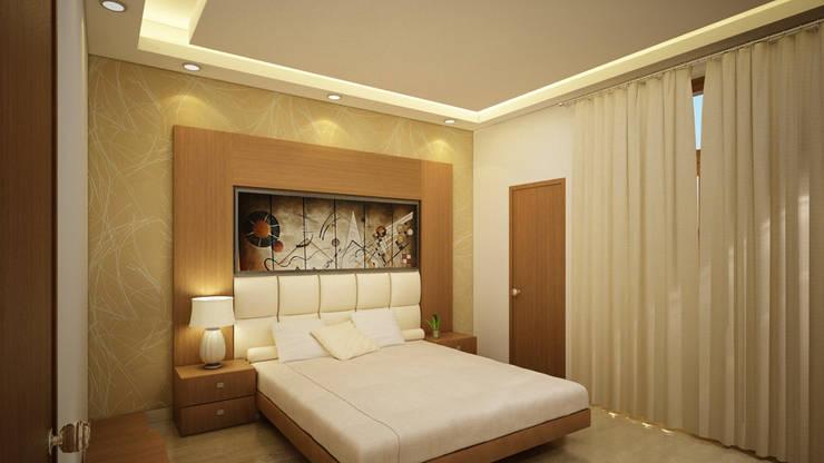 Bedroom Interior design:  Bedroom by Nature in My Life