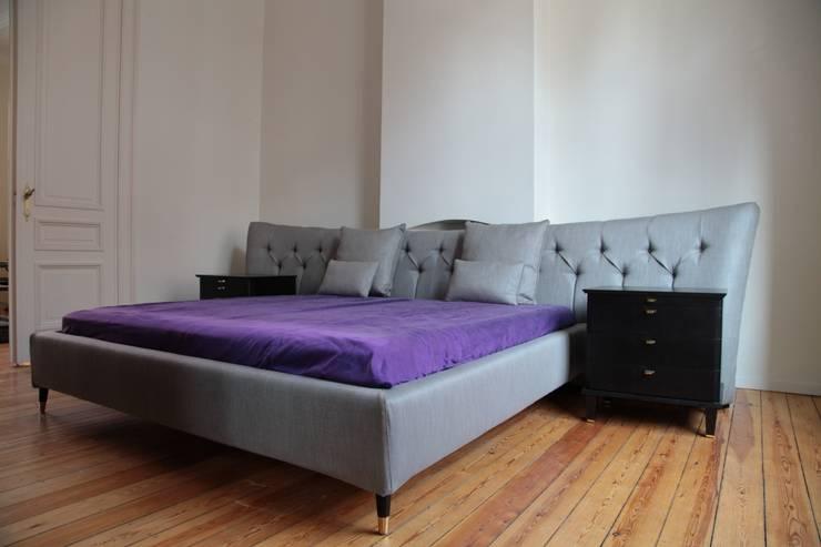 Appartement Bruxelles: Chambre de style  par pure joy interior design
