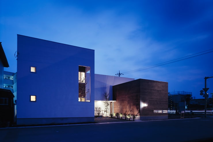 線路際の家: SHU一級建築士事務所が手掛けた家です。