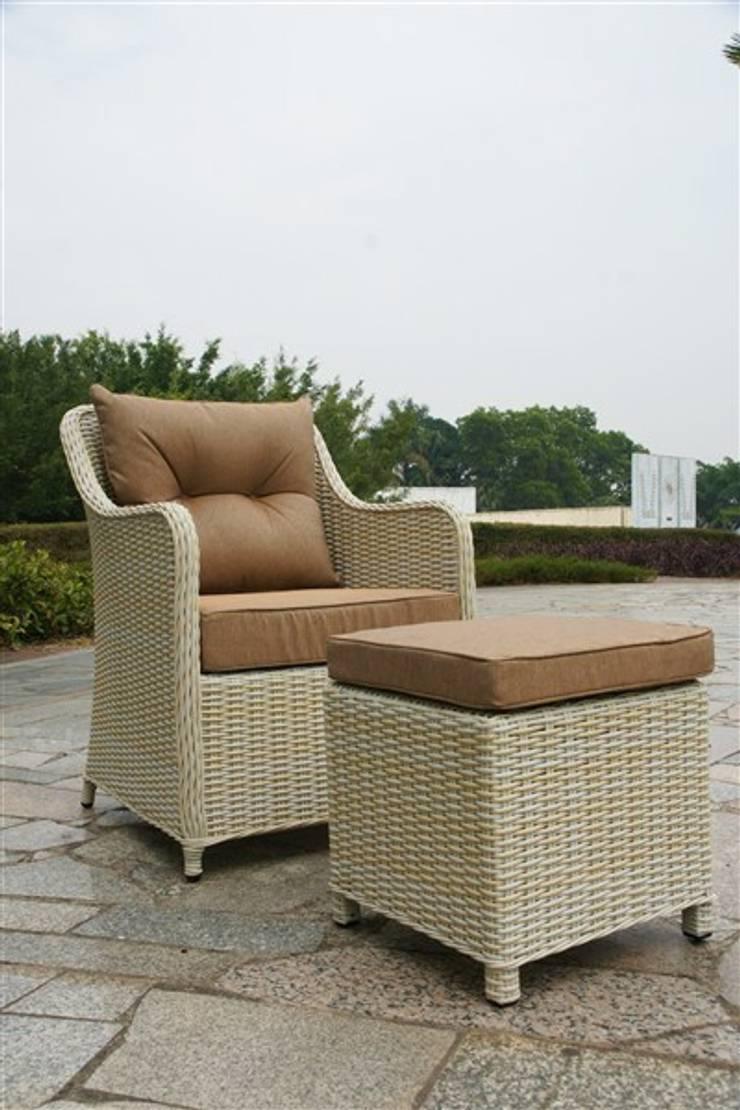 Kumbahçe Bahçe Mobilyaları – Relax Puflu Koltuk:  tarz İç Dekorasyon