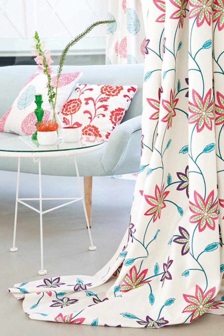 Fuggerhaus Stoff Aurelia:   von Indes Fuggerhaus Textil GmbH,Landhaus