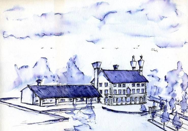 La Villa:  in stile  di Renato Michieli,