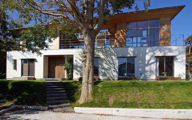 Houses by 株式会社横山浩介建築設計事務所, Asian