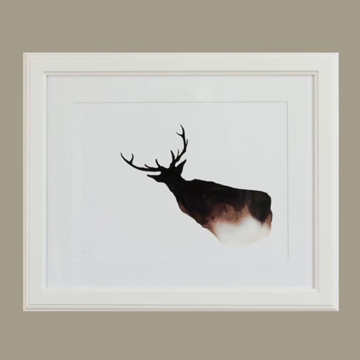 Cairngorms Stag:  Artwork by Dwelling Bird