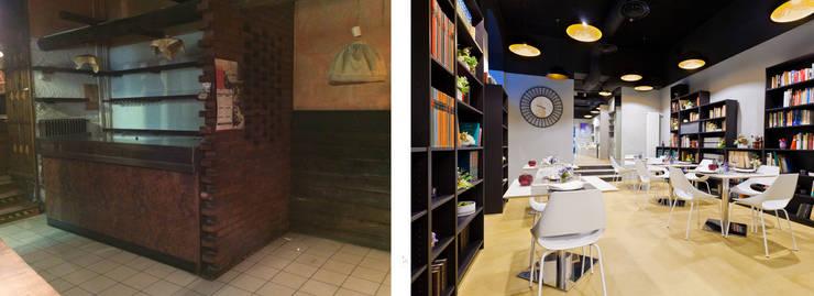"""prima - dopo - library room:  in stile {:asian=>""""asiatico"""", :classic=>""""classico"""", :colonial=>""""coloniale"""", :country=>""""In stile Country"""", :eclectic=>""""eclettico"""", :industrial=>""""industriale"""", :mediterranean=>""""mediterraneo"""", :minimalist=>""""minimalista"""", :modern=>""""moderno"""", :rustic=>""""rustico"""", :scandinavian=>""""scandinavo"""", :tropical=>""""tropicale""""} di arcHITects srl,"""