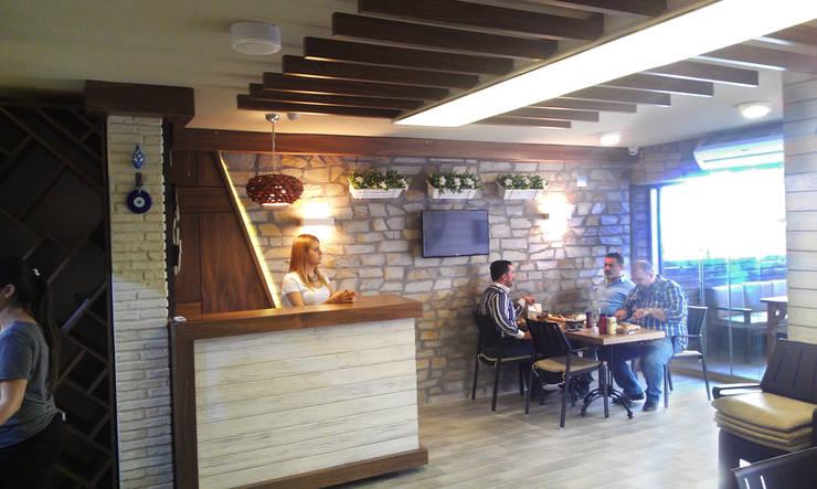 Emre Urasoğlu İç Mimarlık Tasarım Ltd.Şti. – Beefer Steak House :  tarz İç Dekorasyon