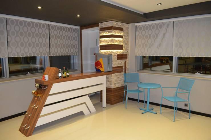 Emre Urasoğlu İç Mimarlık Tasarım Ltd.Şti. – Bomak Hobby Center - Adana:  tarz İç Dekorasyon