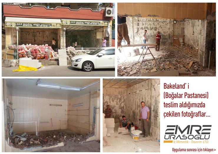 โดย Emre Urasoğlu İç Mimarlık Tasarım Ltd.Şti.,
