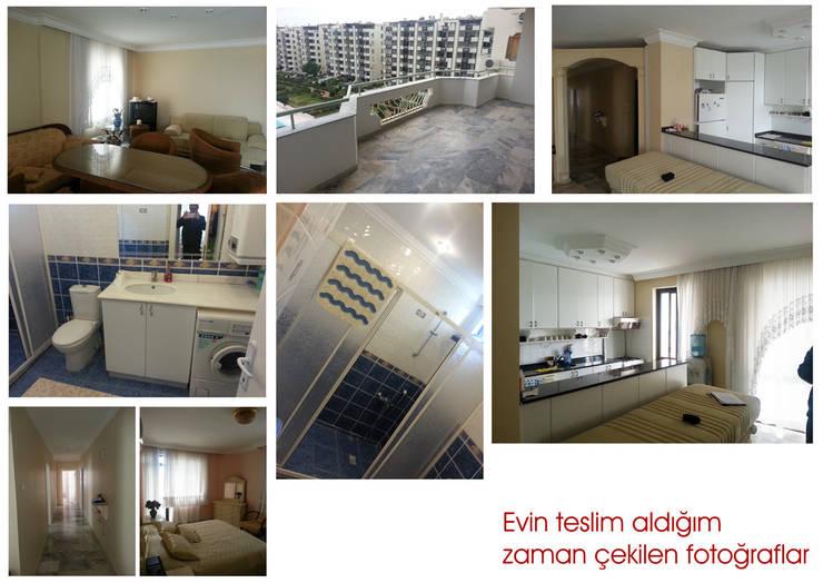 Emre Urasoğlu İç Mimarlık Tasarım Ltd.Şti. – Beyaz Ev - Mersin Çeşmeli Yazlık Projesi:  tarz