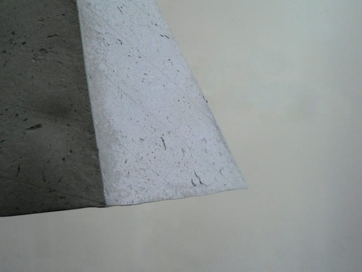 Quartz – wisząca lampa z papierowej pulpy: styl , w kategorii Jadalnia zaprojektowany przez Crea-re Studio