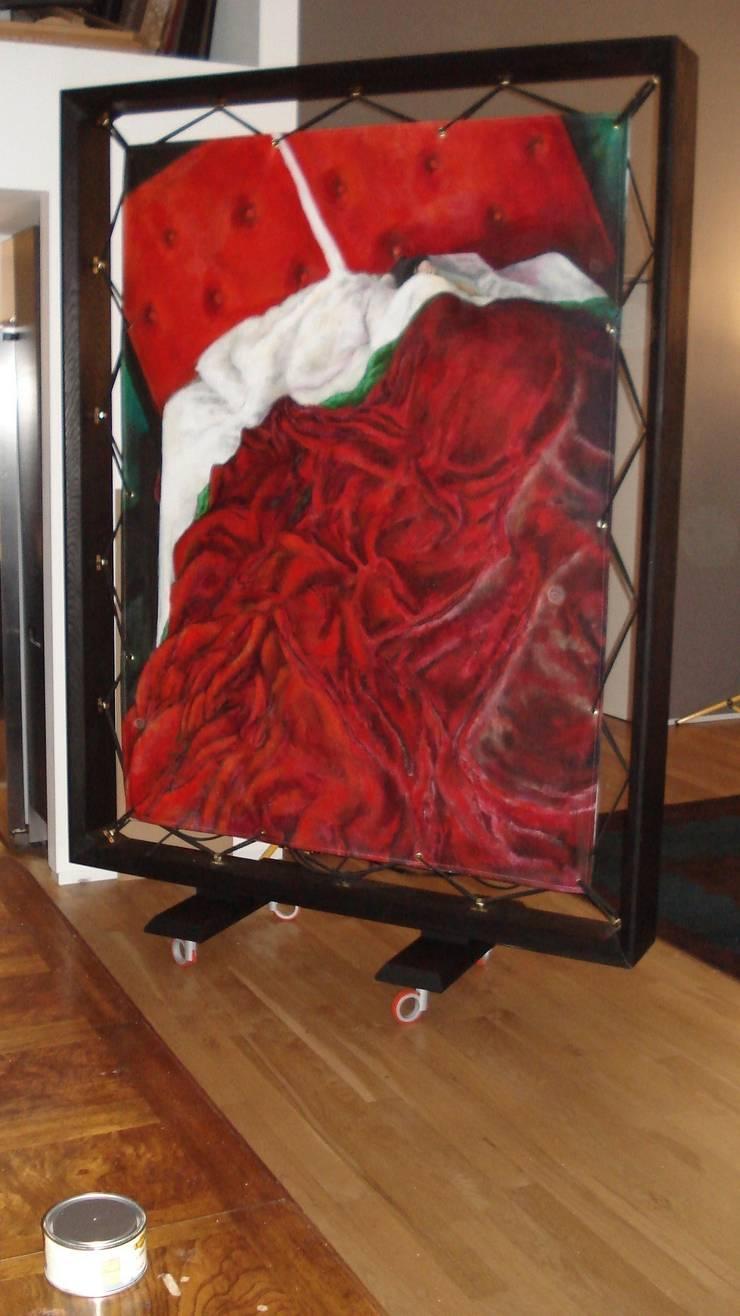 Art frame:  Artwork by woodstylelondon