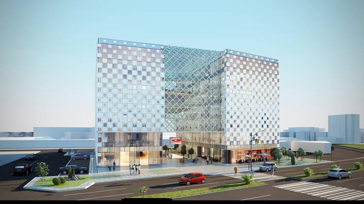 GOOA|GLOBAL OFFICE OF ARCHITECTURE  – Adana Ticaret Odası Yeni Hizmet Binası Katılımcı Proje:  tarz Ofis Alanları
