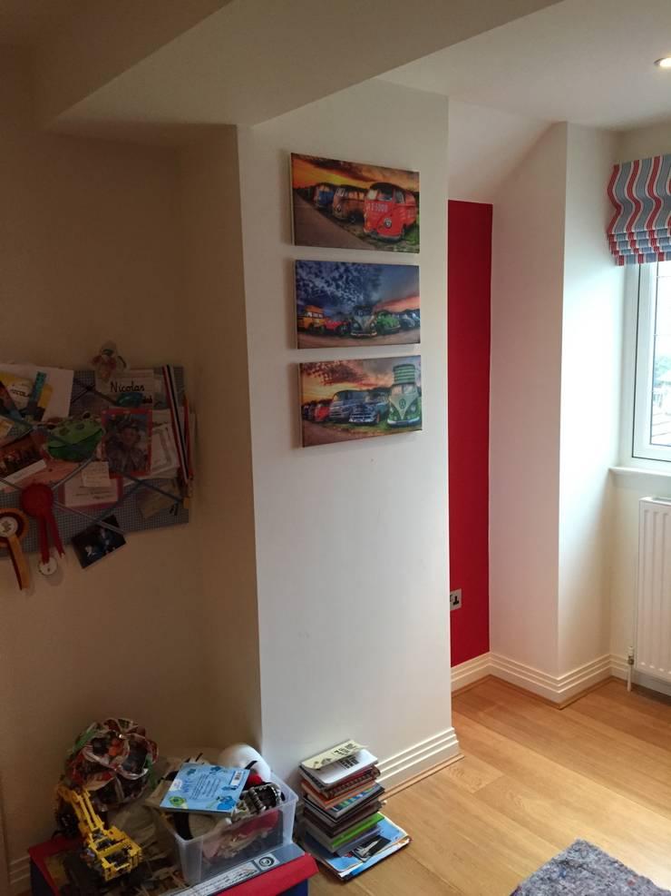 simple bedroom storage, before:  Bedroom by Designer Vision and Sound: Bespoke Cabinet Making
