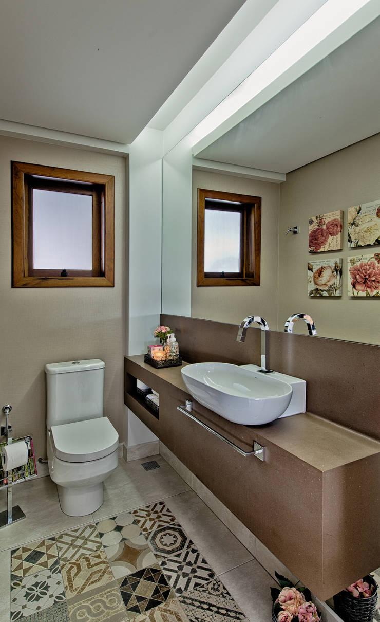 Lavabo: Banheiros  por Espaço do Traço arquitetura