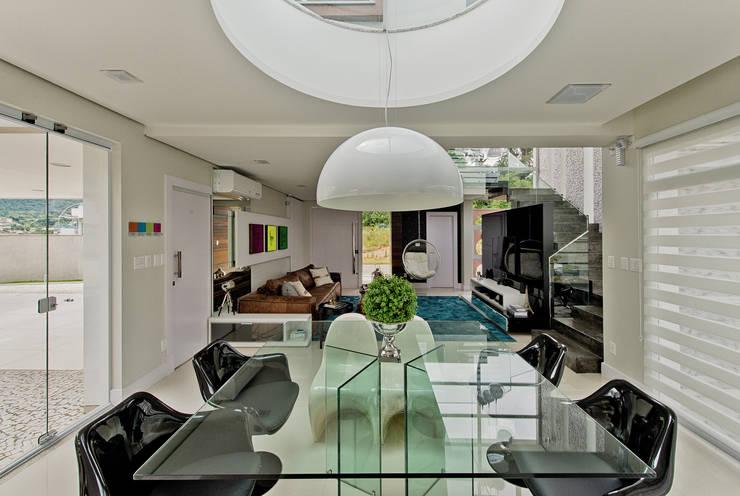 Comedores de estilo  por Espaço do Traço arquitetura
