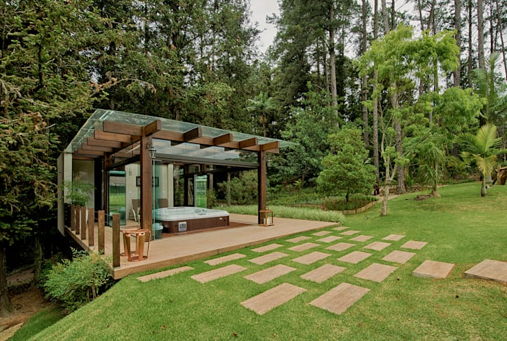 Projekty,  Spa zaprojektowane przez Espaço do Traço arquitetura