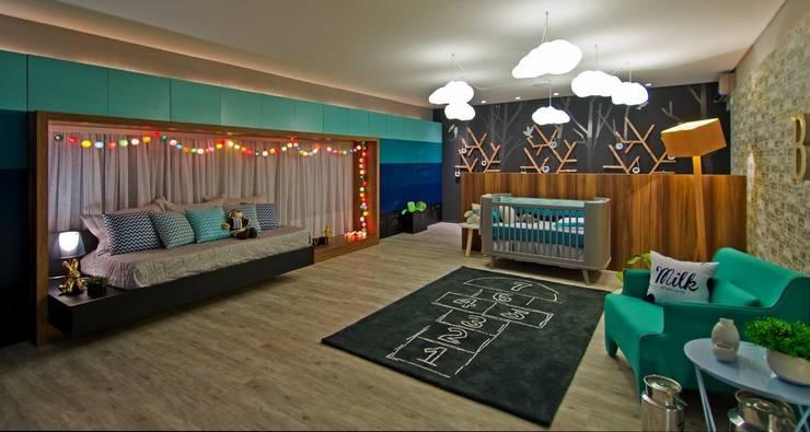 Dormitorios infantiles de estilo  de Espaço do Traço arquitetura