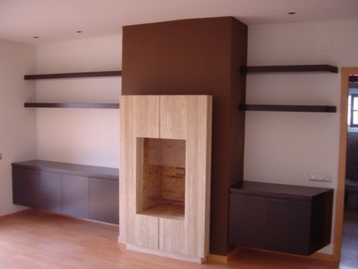 Livings de estilo  por DEKMAK interiores