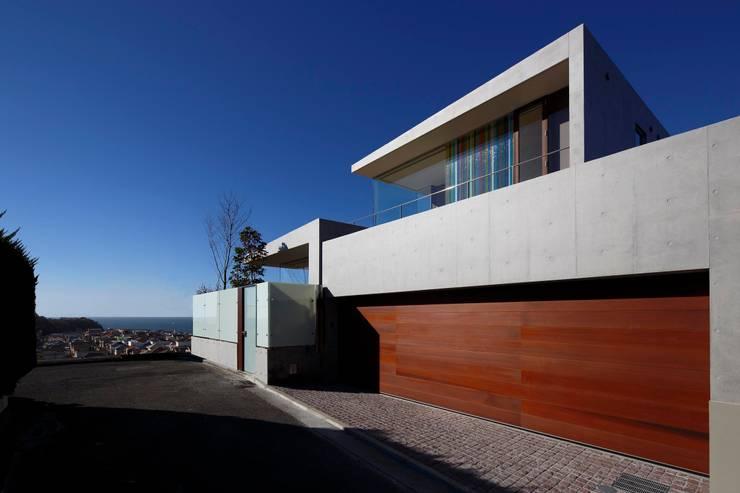 外観 | CASA BARCA | 海を眺める豪邸(別荘建築): Mアーキテクツ|高級邸宅 豪邸 注文住宅 別荘建築 LUXURY HOUSES | M-architectsが手掛けた家です。