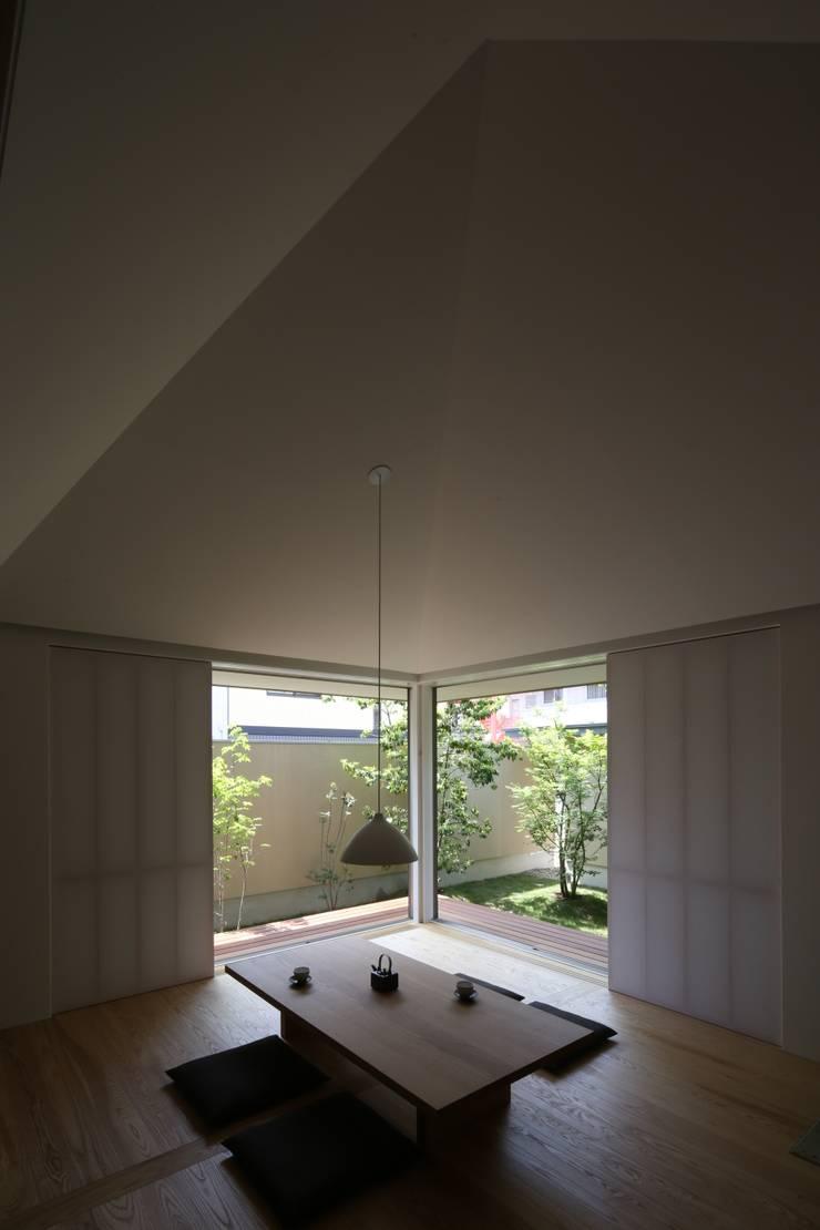 古川町の家: 深山知子一級建築士事務所・アトリエレトノが手掛けたダイニングです。