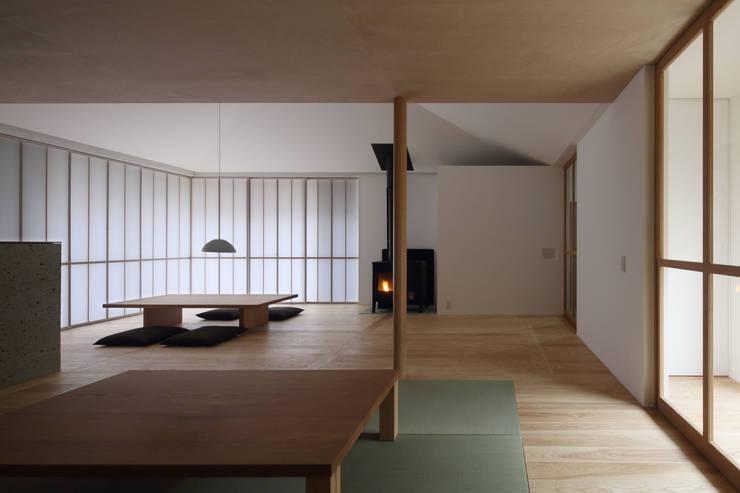 古川町の家: 深山知子一級建築士事務所・アトリエレトノが手掛けたリビングです。