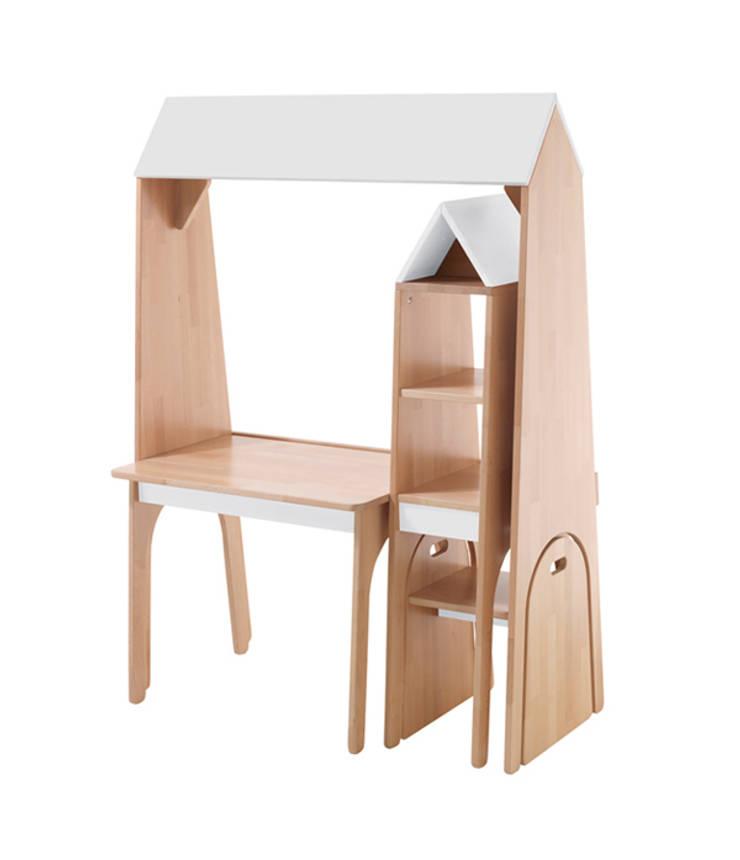 """Gamme de meubles """"tunnel"""": Chambre d'enfants de style  par Jean-Baptiste Ricatte Designer"""