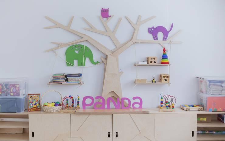 Детский клуб Panda republic: Детские комнаты в . Автор – Fineobjects
