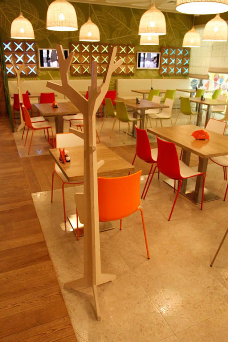 Кафе ОРИГАМИ: Офисные помещения и магазины в . Автор – Fineobjects