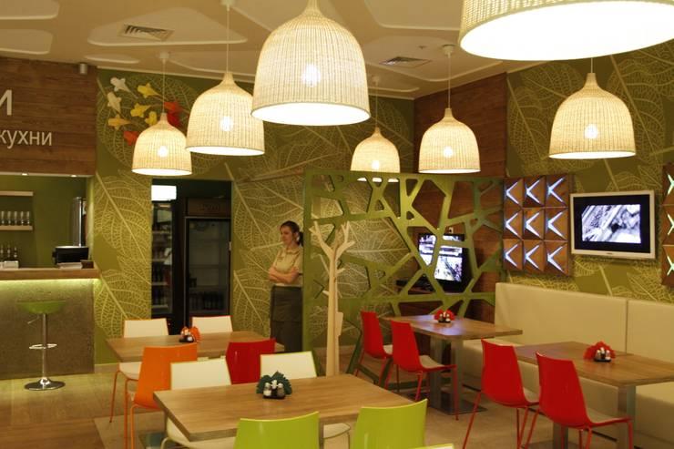 Кафе ОРИГАМИ: Столовая комната в . Автор – Fineobjects